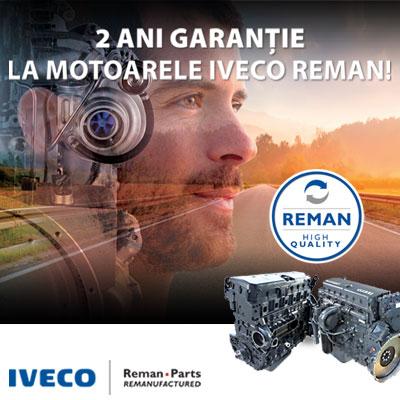 2 ani garantie pentru motoare reconditionate IVECO Reman